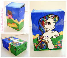 Horsie Theme Deck Box