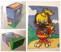 Chocobo Samurai Deck Box.