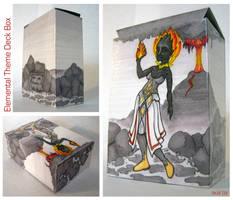 Elemental Theme Deck Box