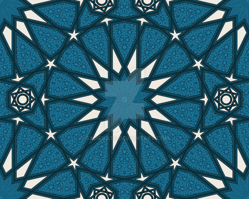 Mudejar in Blue