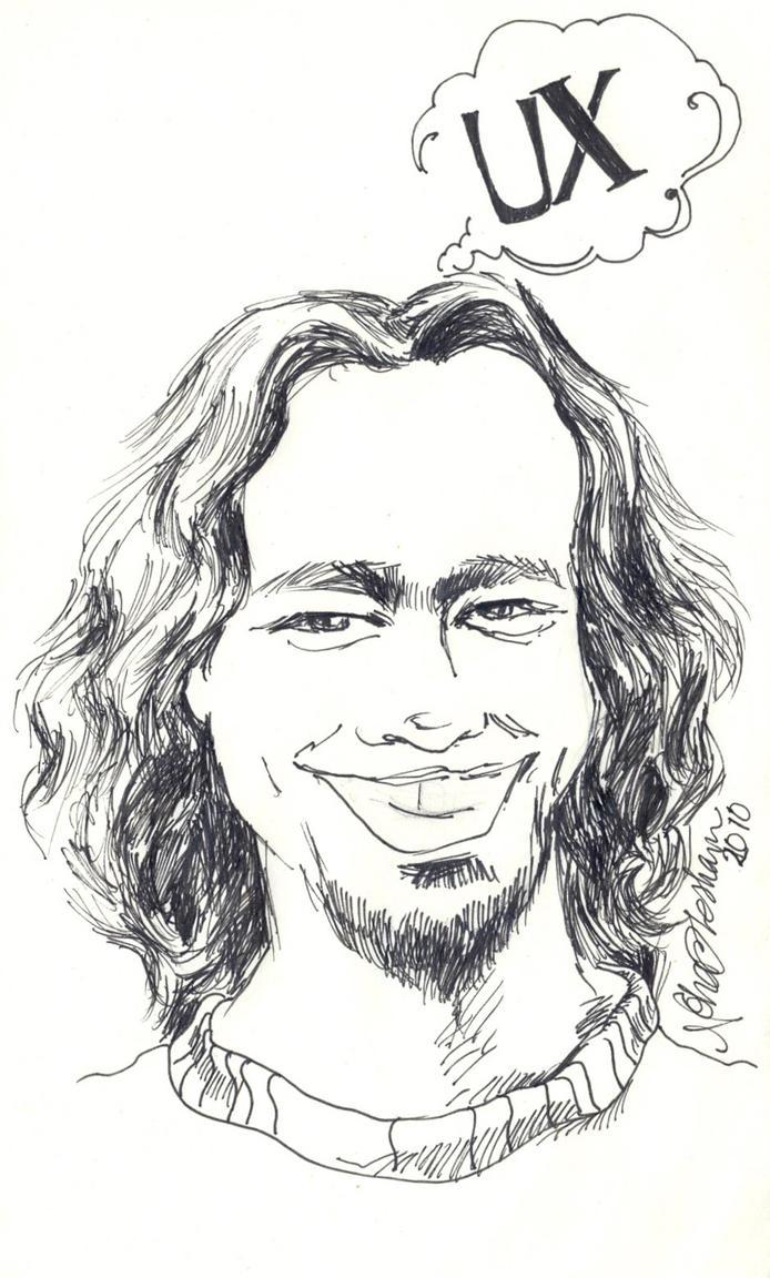 Sketch for a friend by nanuki