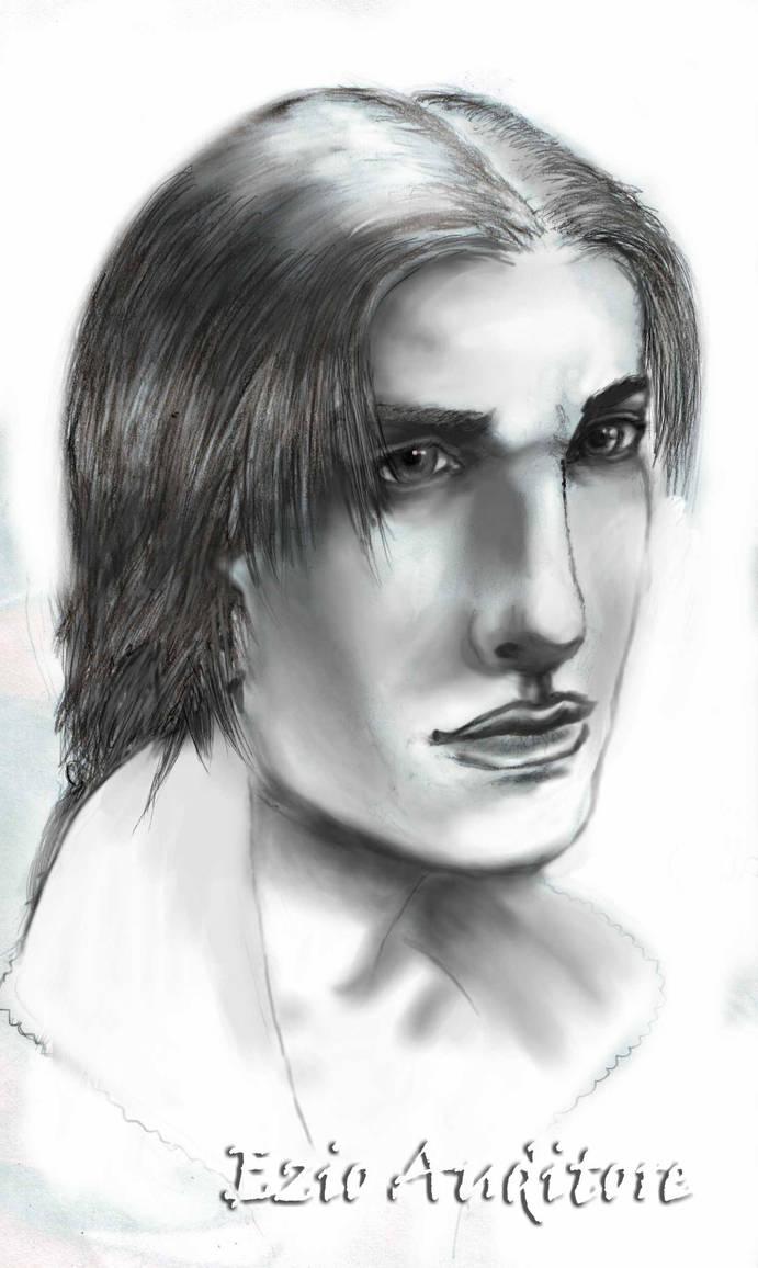 Ezio realistic by Max-Zorin