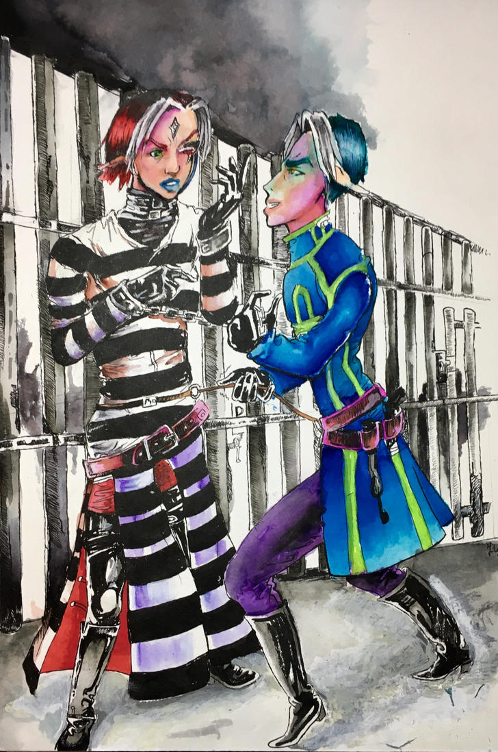 Prisoner! You are mime! by fantasy-fairyland