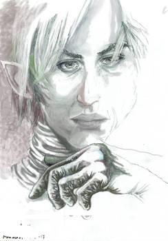 Portrait Of Max (digital drawing)