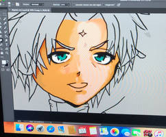 W.I.P. Of my character Max by Max-Zorin