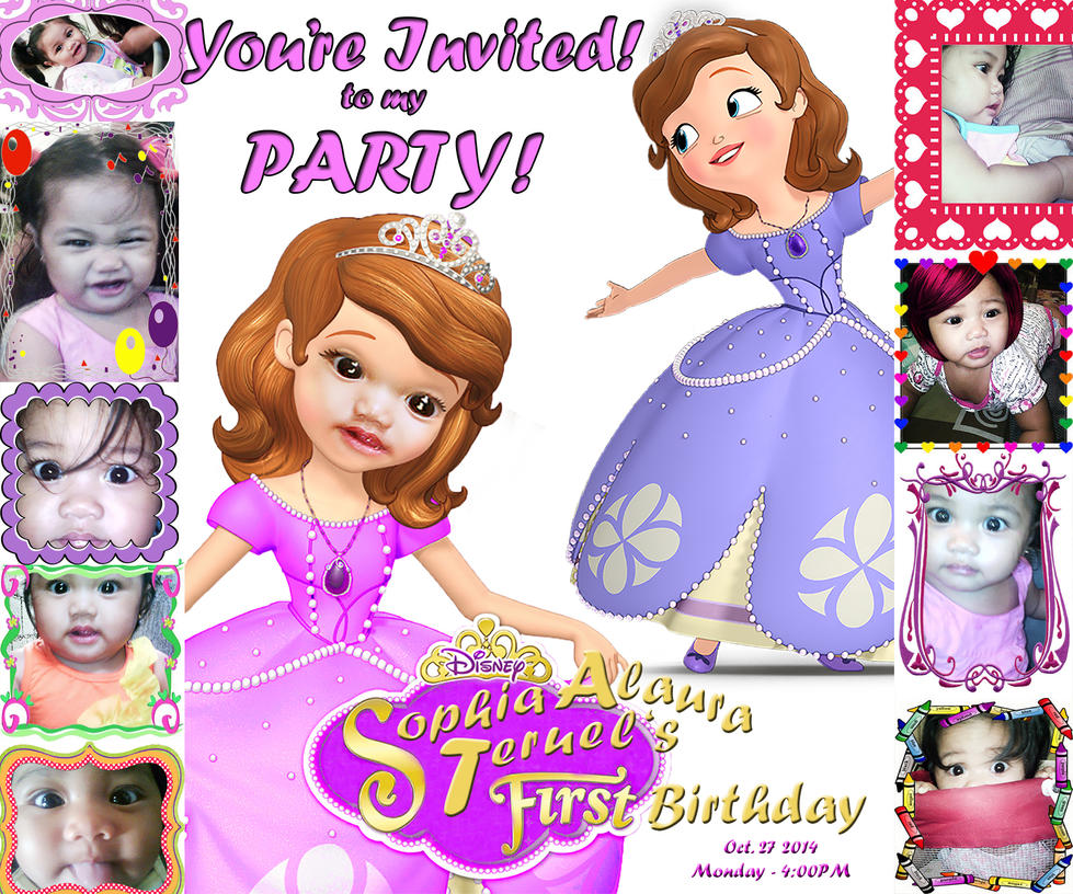 Princess Theme Invitation with amazing invitations template