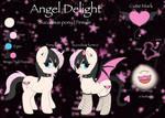 Angel Delight - Mlp OC