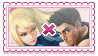 samus x little mac stamp by zanui