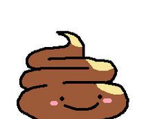 Cute Poop *gif* by BlueEvelyn