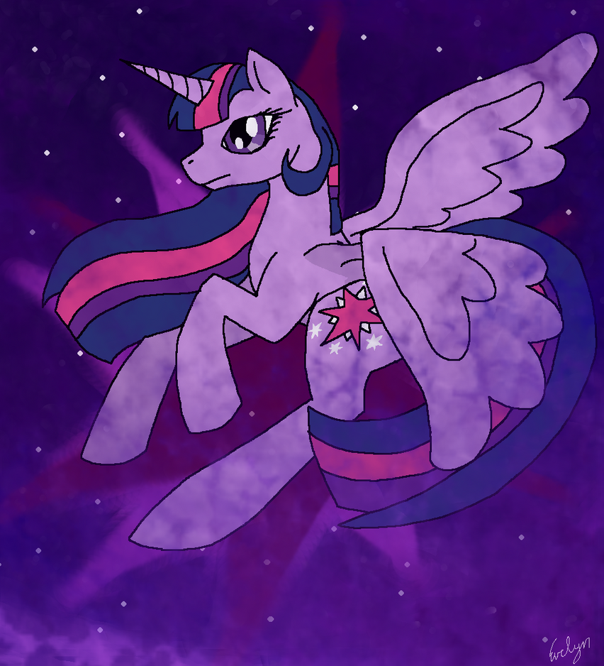 Princess Twilight Sparkle by BlueEvelyn