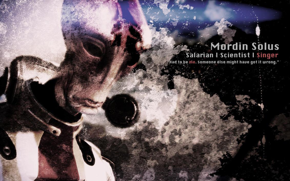 Mordin Solus Wallpaper by AbuZafar