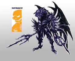 Demon God by dorianclock