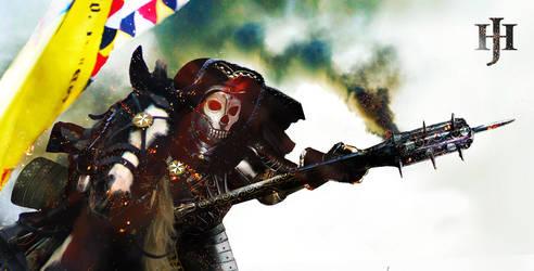 Skull Knight HEADER by dorianclock