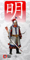 Medium Ming Dynasty Trooper by dorianclock