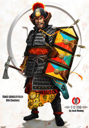 Tang Dynasty Cavalryman (8th Century) by dorianclock