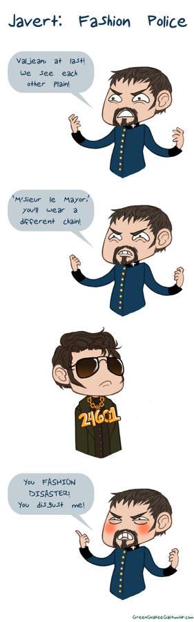 Javert: Fashion Police
