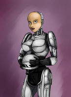 Female Robocop by ThisOtherWriter