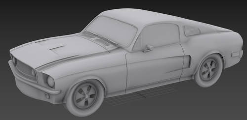 Mustang work in progress by ionut92