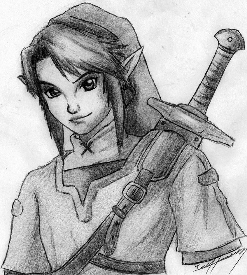 Link: the Hero of Hyrule by EvanOdinson