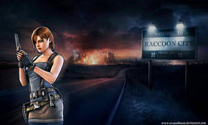 Jill Valentine Raccoon City Survivor. by EvanOdinson