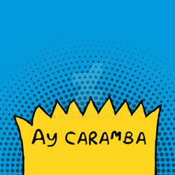 Ay Caramba - Minimalist Pop Art Print