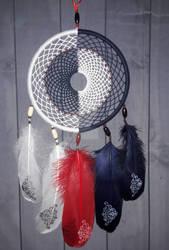 Decorative dreamcatcher Equilibrium 2 Yin Yang