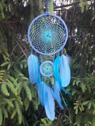 Decorative Dreamcatcher ~Azure Night~