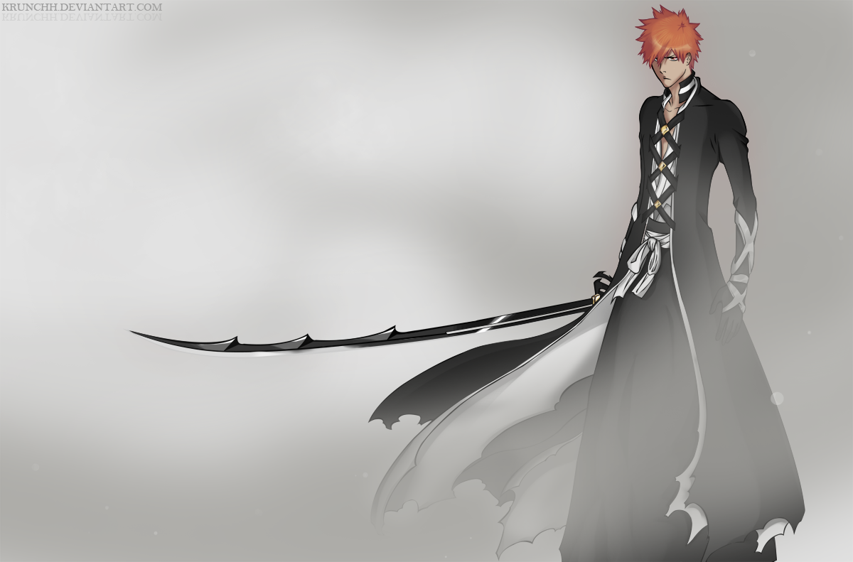 Ichigo bankai bleach 475 by krunchh on DeviantArt