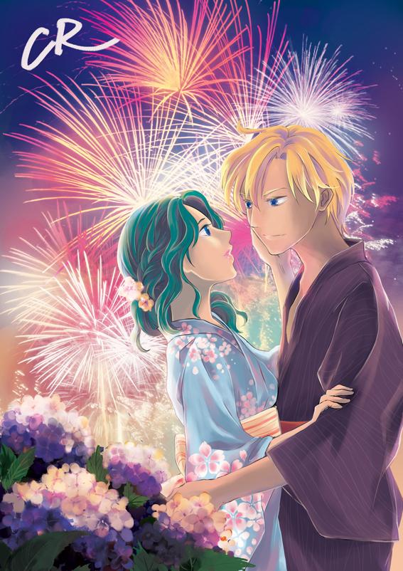 Haruka and Michiru by CRINS