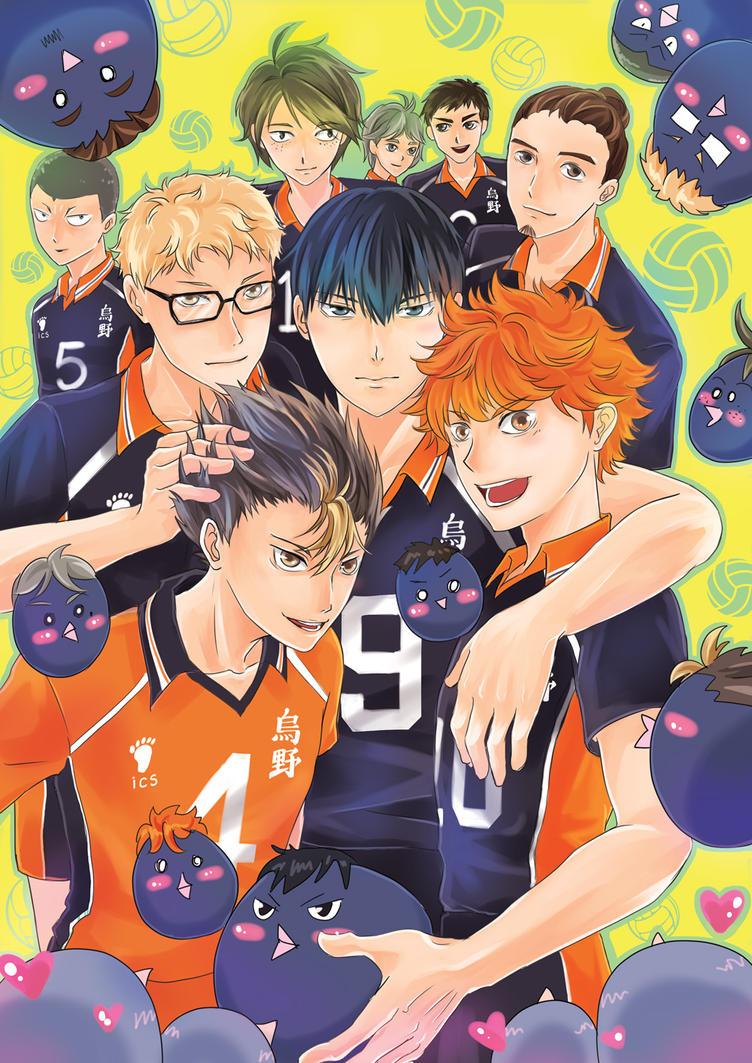 Team Karasuno by CRINS