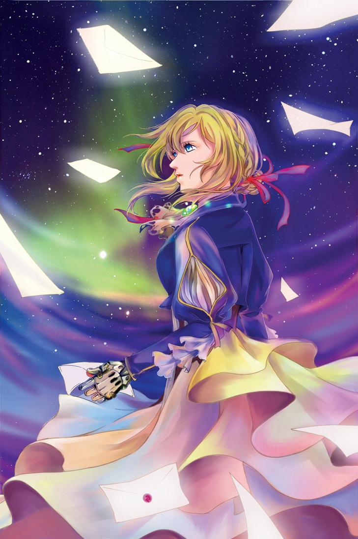 Violet Evergarden by CRINS