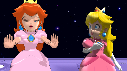 Is Princess Toadstool Peach! by Ryad2006