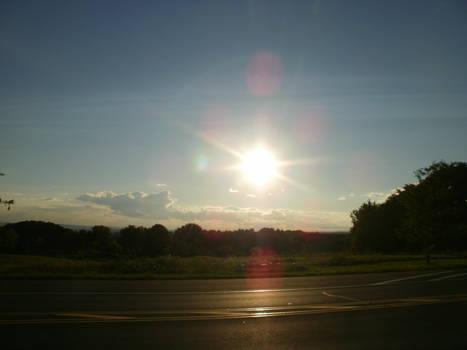 An August Sunset III