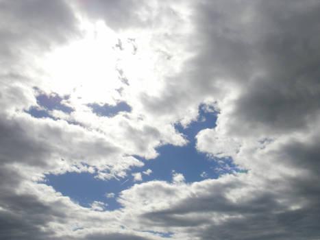 Big Clouds, Tiny Jet