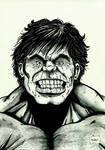 Hulk (watercolour)