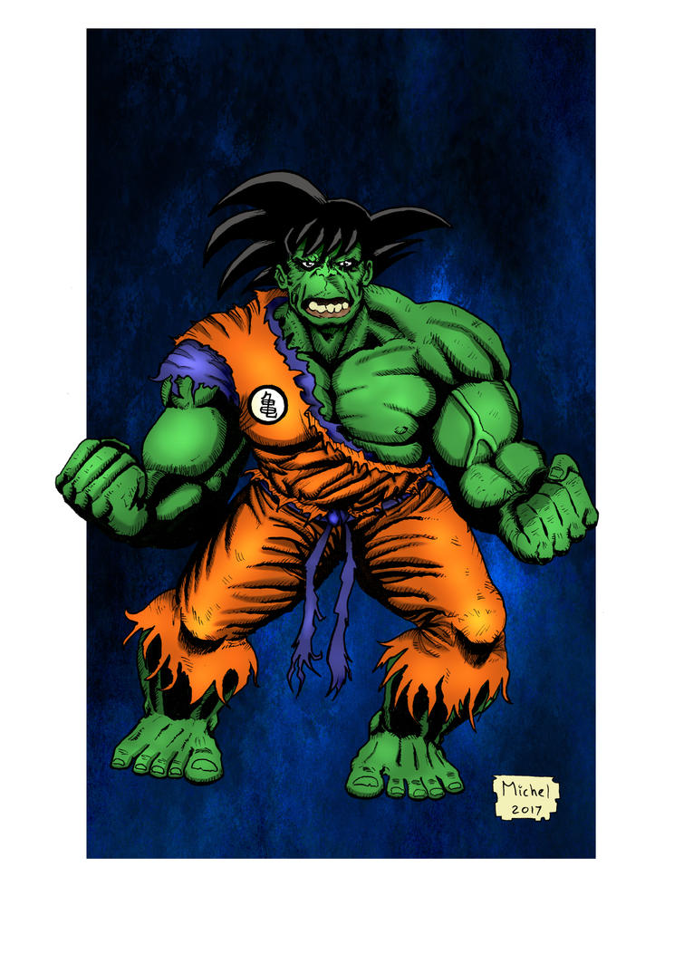 Goku+Hulk = Gholku? by Smully