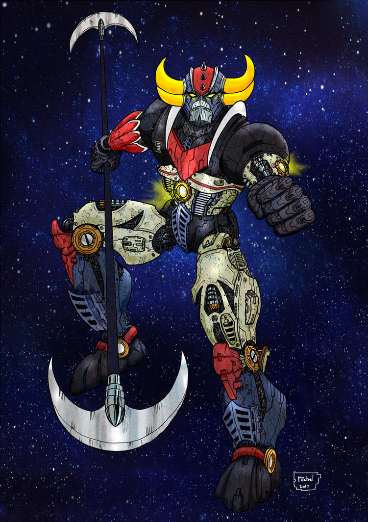 Grendizer (Goldorak) by Smully
