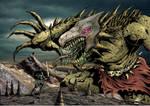 Scribble Challenge: Monster Attack