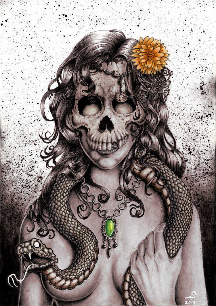 Voodoo priestess by Smully on DeviantArt