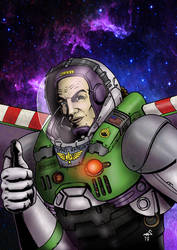 Buzz Lightyear (Toy Story 4) in my own style