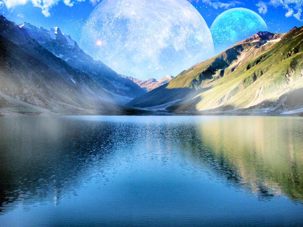 Fantasy Water Landscape