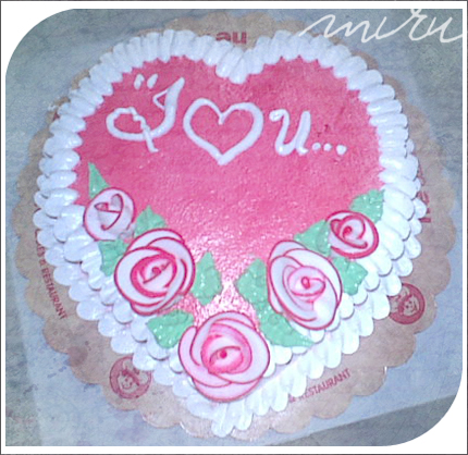 Images Of I Love U Cake : I LOVE YOU CAKE by chubeery on DeviantArt