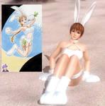 DOA5LR- Kasumi DOAX2 Concept art bunny