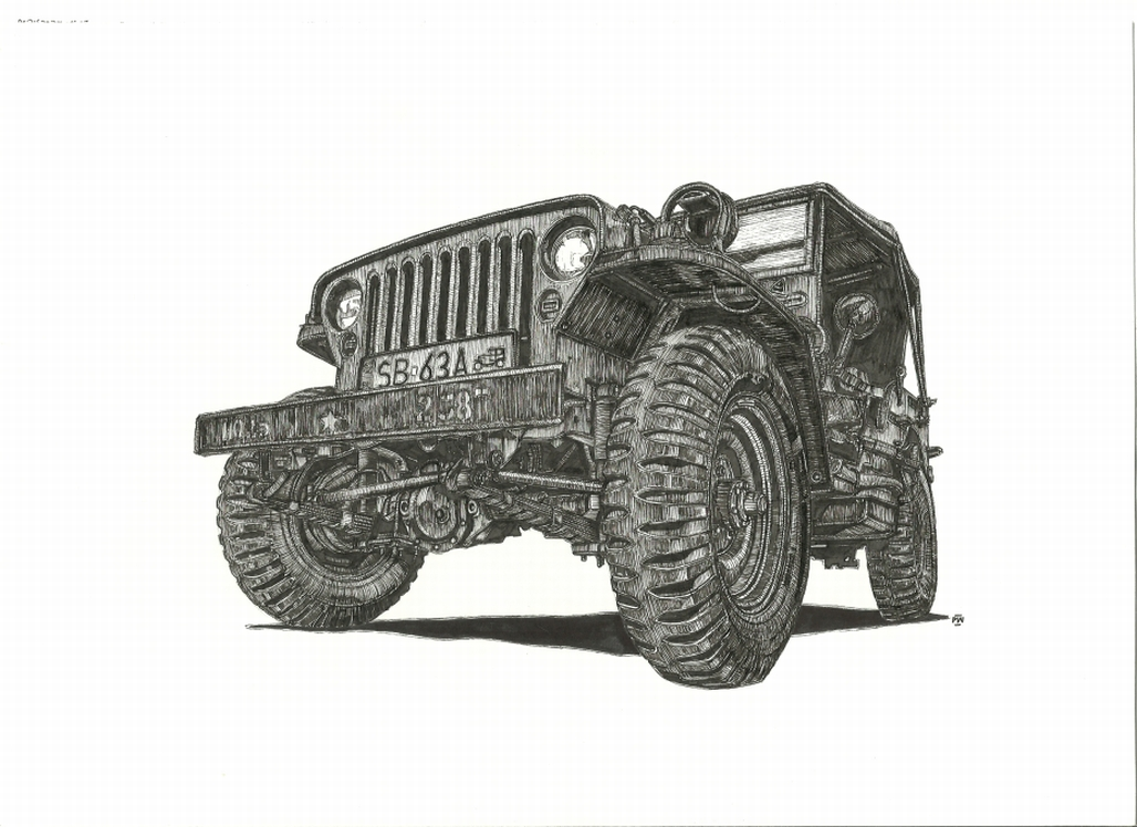 Jeep Willys By Przemus On Deviantart