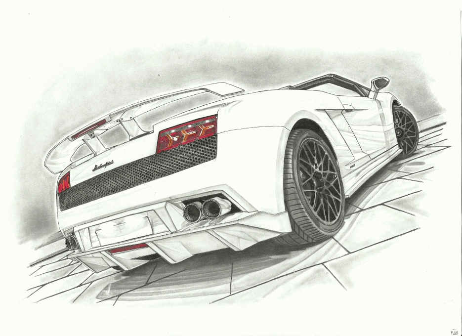 Lamborghini Gallardo GT 600 by przemus