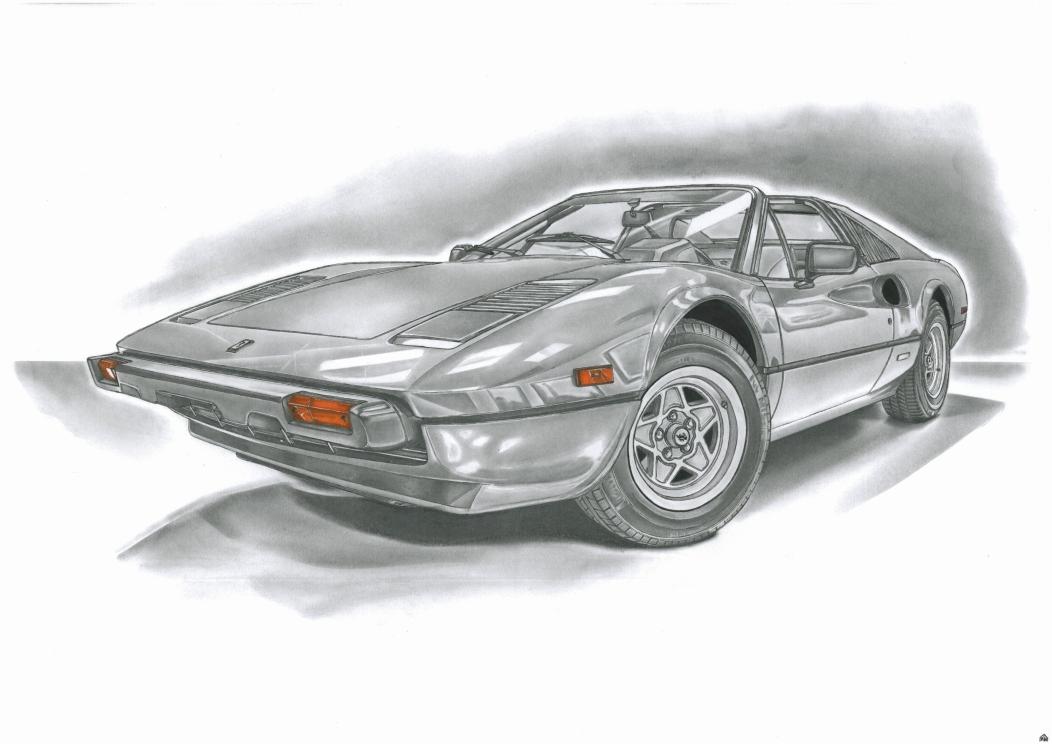 Ferrari 308 by przemus