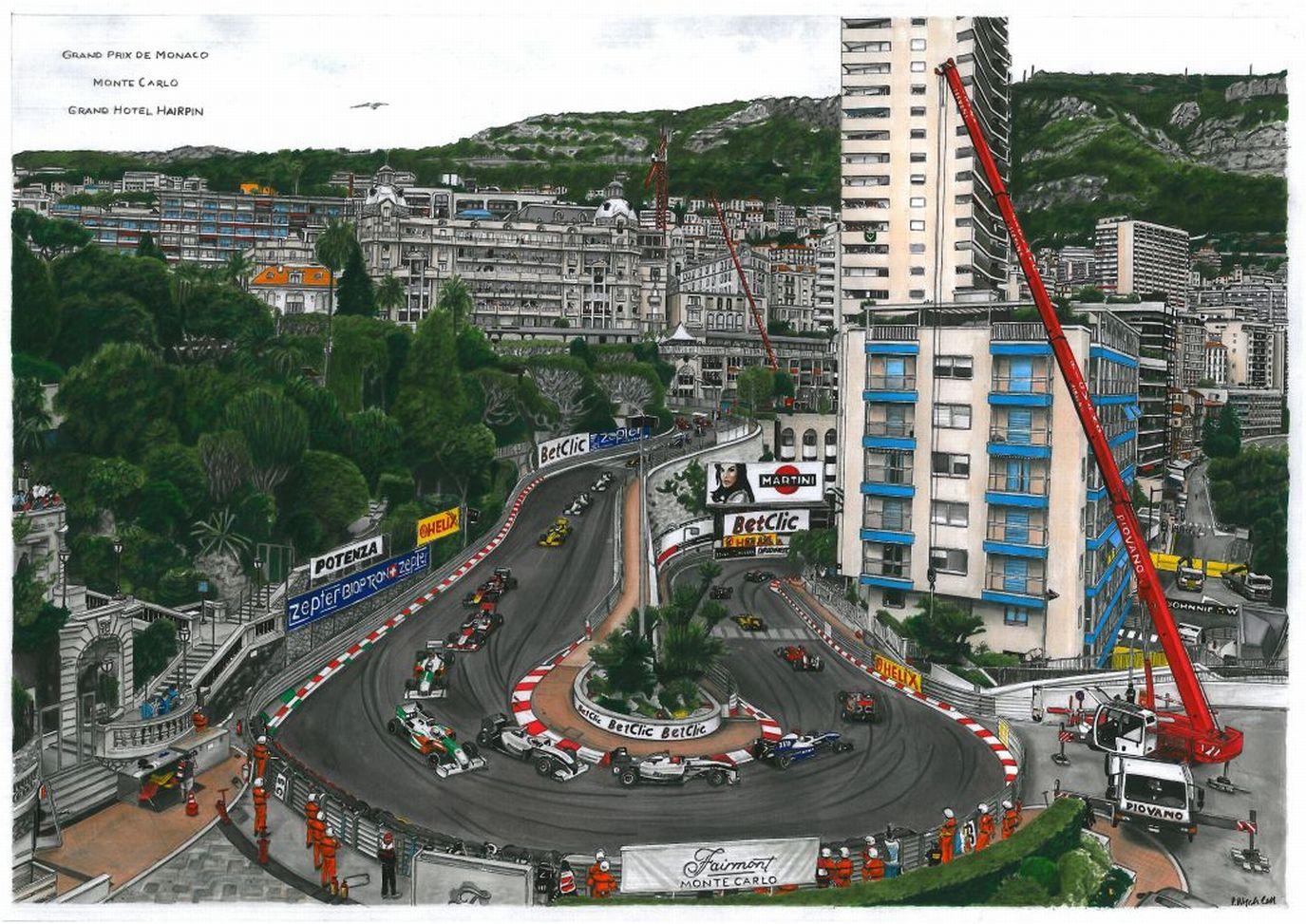 GP Monaco 2010 by przemus