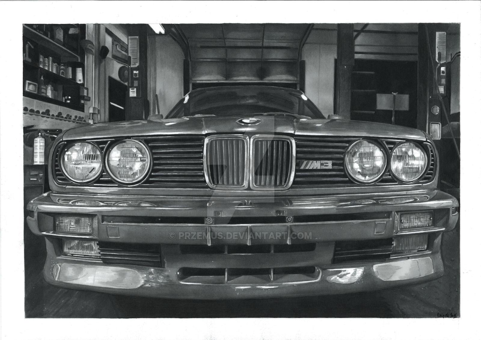 BMW M3 E30 by przemus