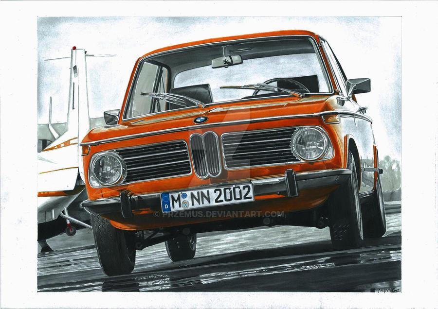 BMW 2002tii by przemus