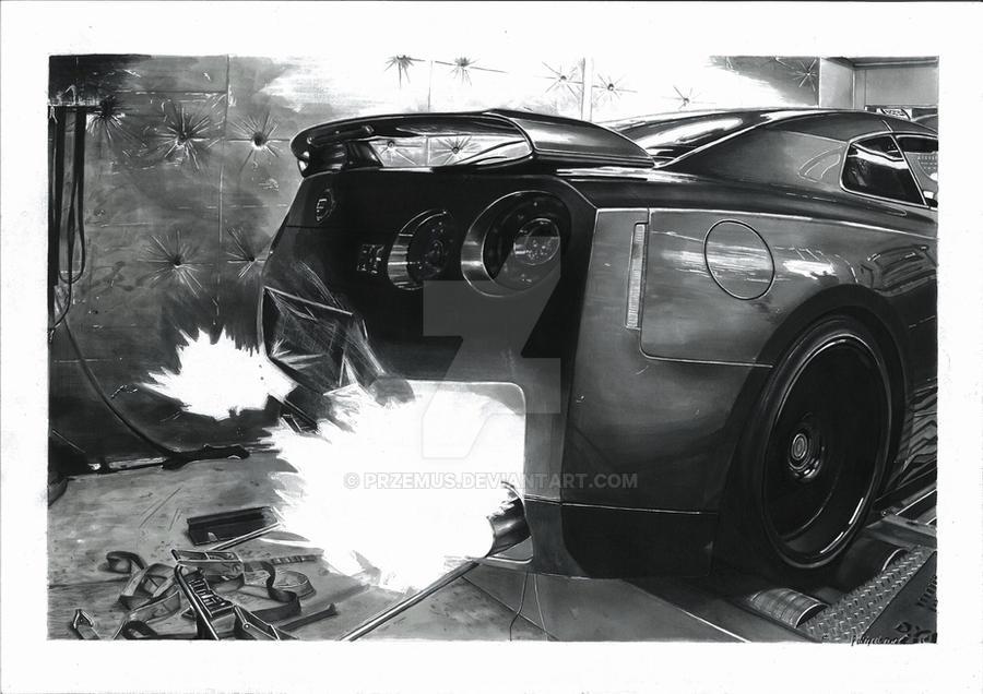 Nissan GTR by przemus